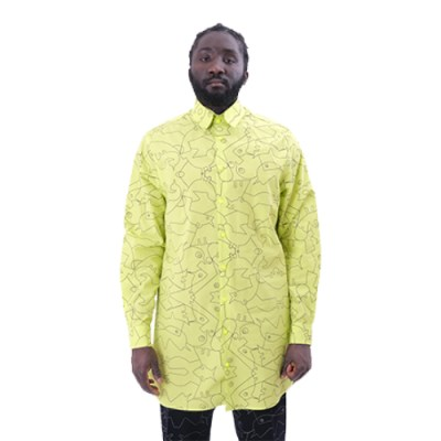 Tenten Poplin Cotton Shirt SH012-YLW