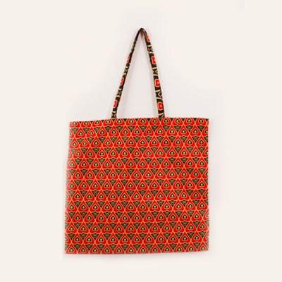 Shopper in tessuto wax 37x42