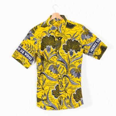 Camicia manica corta uomo 005BY