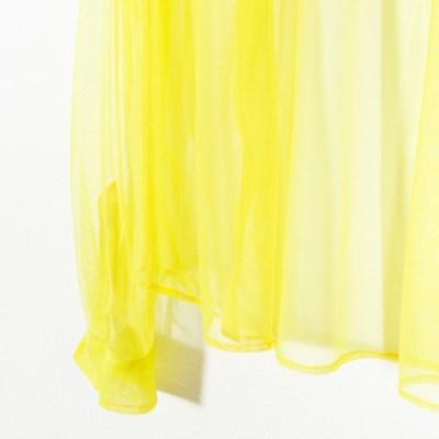 Camicia tulle giallo 049T