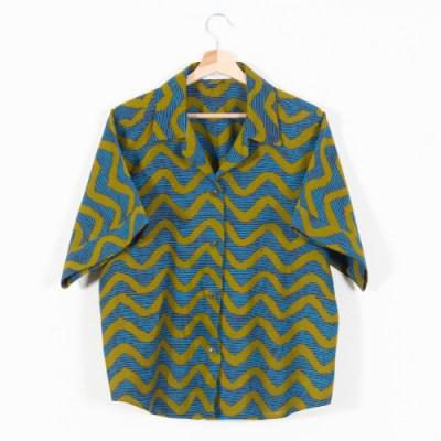 Camicia donna manica corta 056AM