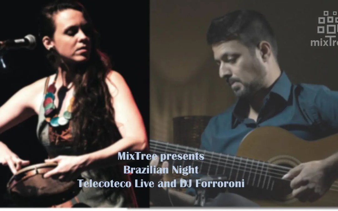"Sicilian dinner with Brazilian evening, special guests "" Telecoteco Project Live and DJ Forroroni """