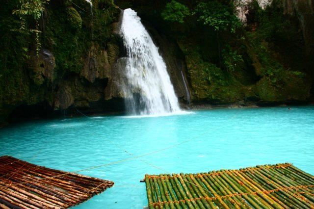 Kawasan Falls, Cebu, Filipinas