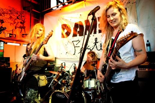 Damen festival, Gothenburg, Photo: Christina Blom