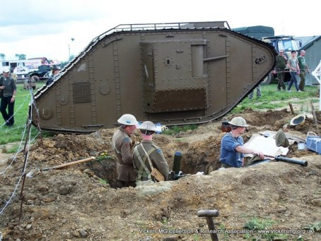 Reproduction Mk IV Tank (2/3 scale length)