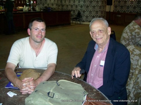 Richard Fisher with Dolf Goldsmith (Author, Grand Old Lady of No Man's Land)