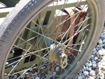 Handcart wheel