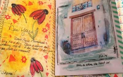Fearless Art Journaling: Week 1