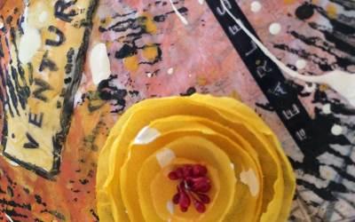 Mixed Media Walk Through: Fearless Art Journaling: Week 3