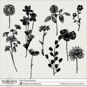 Inky-Floral-Stencil-Brushes