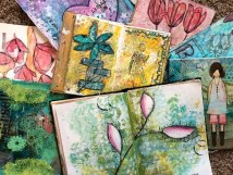 Vicki Robinson Designs Art Journal