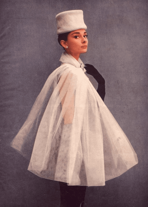 Audrey Hepburn Givenchy and Tulle  Vicki Archer