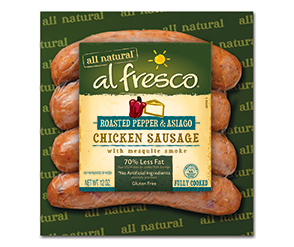 al fresco Roasted Petter & Asiago Chicken Sausage