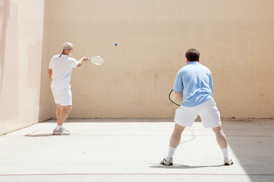 Friendly Racquetball Game