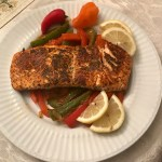 Pan-seared Cilantro Salmon