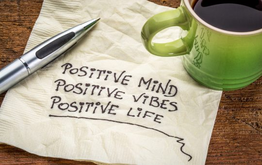 Restore with positive mindset and gratitude. Get Back to Healthy Living