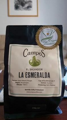 Campos Coffee: La Esmeralda