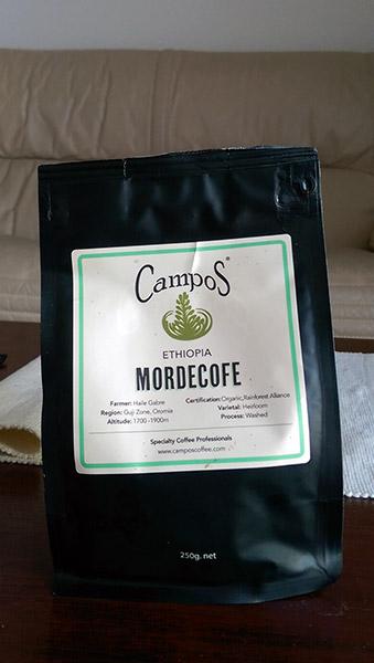 Campos Coffee: Mordecofe