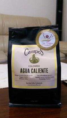 Campos Coffee: Agua Caliente