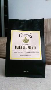 Campos Coffee: Huila Del Monte