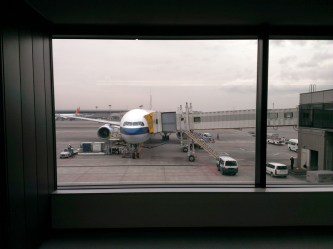 Our Flight: CX504 (Boeing 777)