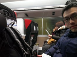On the Narita Express