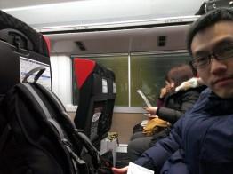 On the Narita Express