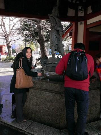 Asakusa Shrine: Purification