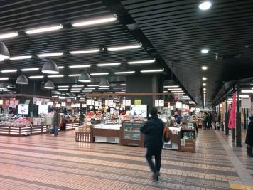 Stores at Echigoyuzawa Station