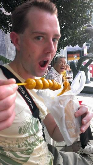 Hong KongStreet Food: Curry Fishballs