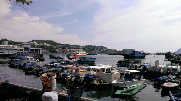 Day 6: Boats and Ferry Leaving Cheung Chau