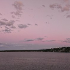 Dusk View from Cronulla