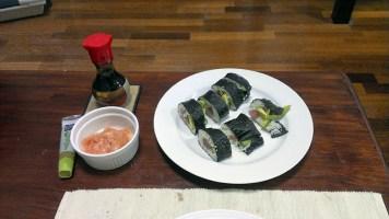 Fresh Fish Sushi: The First Batch