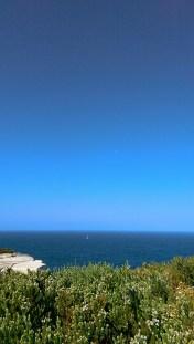 Coast Track: Sea and Moon