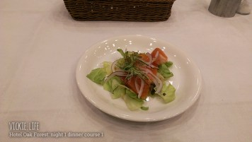 Hotel Oak Forest: Day 1 Dinner Course 1