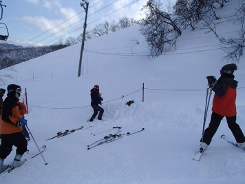 Ski Trip Jan 2015 D3: Ski Trip Jan 2015 D3: Burying Behind the Scenes