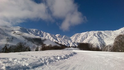 Ski Trip Jan 2015 D4: Easy Slope