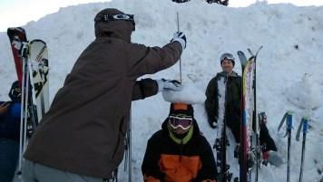 Ski Trip Jan 2015 D4: Broken Ski Pole