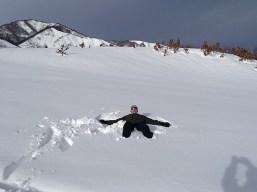 Ski Trip Jan 2015 D5: Richard on Powder Snow