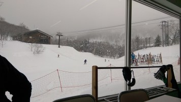 Ski Trip Jan 2015 D6: View from Dining Area