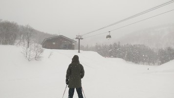 Ski Trip Jan 2015 D6: Heavy Snow