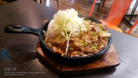 Corea Corea, Cairns: Barbecued Beef Hot Plate