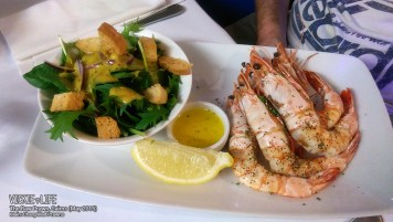The Raw Prawn, Cairns: Chargrilled Prawns (main)