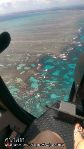 Great Barrier Reef Cairns, June 2015: Reef View from Helicopter