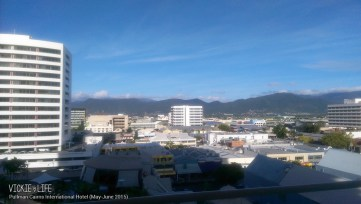 Pullman Cairns International Hotel: City Mountain Room View