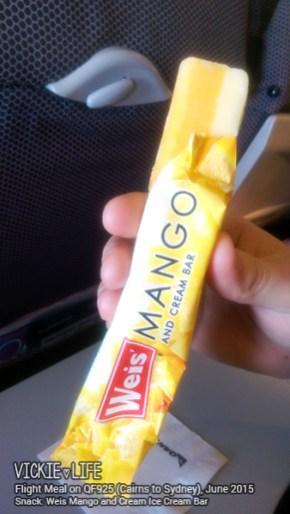 Qantas QF925: Ice Cream Bar