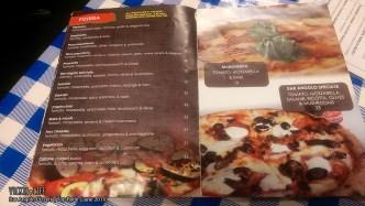 Bar Angolo Pizzeria, Top Ryde, June 2015: Menu Pizzeria