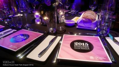 Doltone House Hyde Park, August 2015: Table