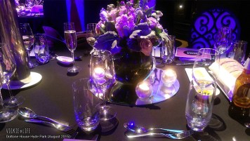 Doltone House Hyde Park, August 2015: Table