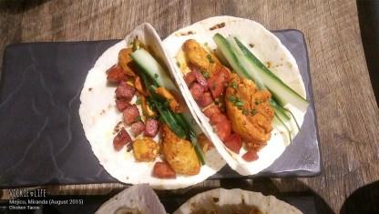 Mejico Miranda, Aug 2015: Chicken Tacos